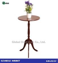 moderno de madera pequeña mesa de diseño