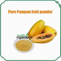 Solubility no less 95% dry papaya powder papaya seed powder for sale