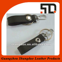 Hot Selling High Class Leather Key Fob With Metal Coin Holder