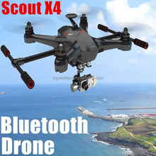 Cheap & Professional Scout X4 2.4G RC hobby wifi 8 motors 1080P 3-Axle gimbal android wifi quadcopter