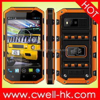 "5"" IPS Screen Rugged Waterproof Cell Phone with PPT Walkie Talkie Hummer H6 Android Smart Phone Waterproof Mobile Phone"