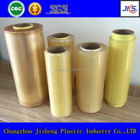 Top quality soft transparent pvc cling film wrap
