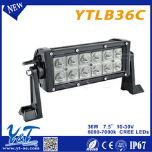 Y&T 2015 india price led light bar off road 7.5inch ranger led off road light bar with Best quality