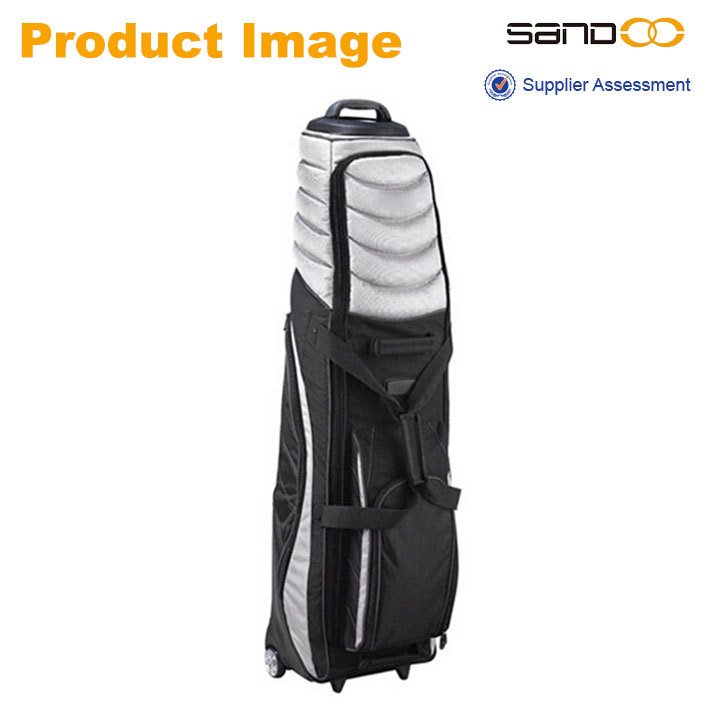 Pivot Grip Wheel Travel Golf Bag Cover, golf bag with wheels