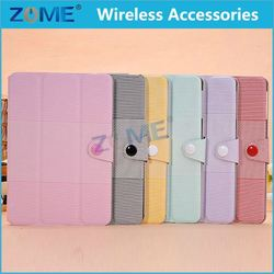 2014 New Products Real Wallet Leather Case For Ipad Mini Wholesale Christmas Mobile Phone Case