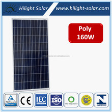 High Efficiency Solar Panel Chinese Panels Solar , 12v 160w Poly Solar Panel in China with CE, CEC, TUV, IEC, ISO certificates