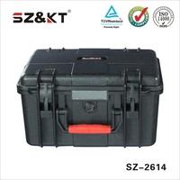 plastic dustproof waterproof shockproof tool case for equipment