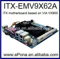 INTEL VIA VX900 based thin Mini ITX motherboard ITX-EMV9X62A