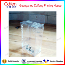 wholesale good quality gift transparent clear PVC box