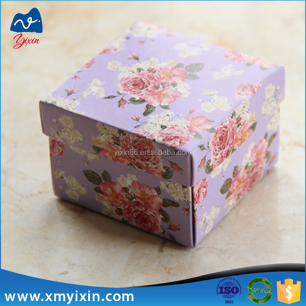 Decorative Cardboard Boxes For Gifts : Decorative cardboard paper boxes fashion luxury gift