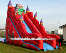 red dragon inflatable slide