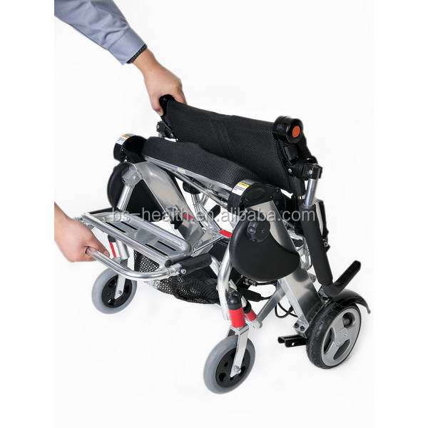 Sale lightweight folding electric power wheelchair buy for Lightweight motorized folding wheelchair