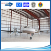 q235/q345 steel material sandwich panel light steel structure aircraft hangar with best price