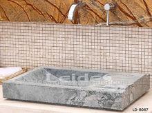 Silver grey fancy square wash basin