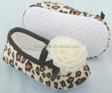 Venta al por mayor colores estampado de leopardo flor kids shoes Wholesale venta