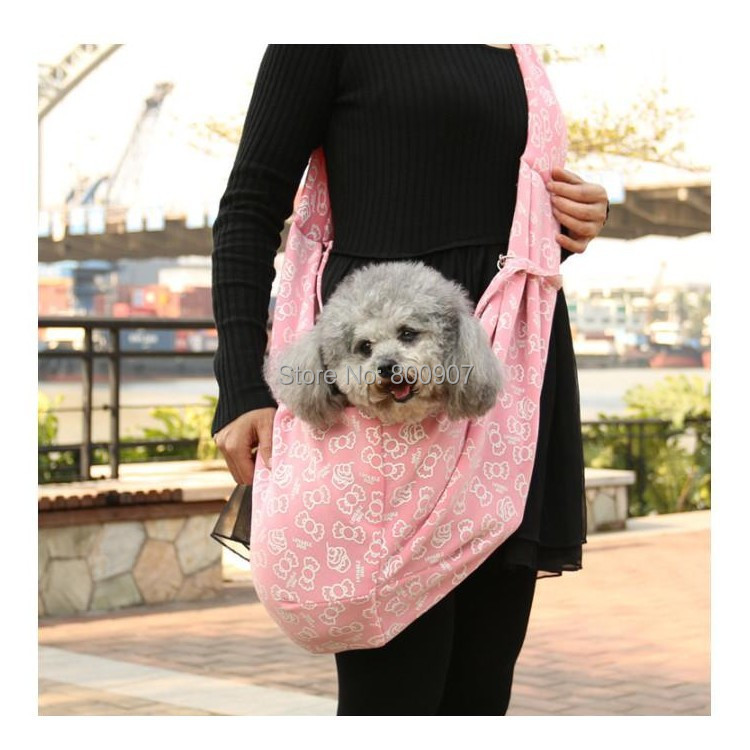 Pet Sling Dog Cat Puppy Small Animal Carrier Candy Pattern 40 Inspiration Dog Sling Pattern