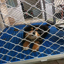 security galvanized welded grid wire mesh dog cage fence