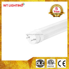 Single end / two end wiring method 18w smd2835 1200mm ul led tube t8