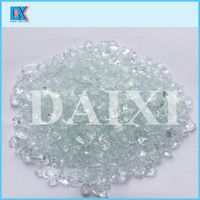 China sandblasting material crushed glass cullet