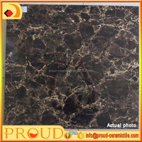 PROUD! 600x600mm 3D injket glossy full glazed porcelain floor/wall tile