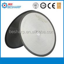 100mm Resin bond diamond grinding wheel / Thin diamond grinding wheel for glass