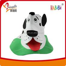 lovely dog animal eva hats for party/ kids