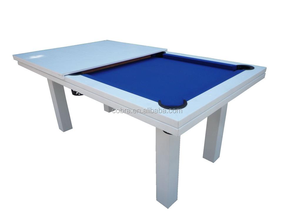 In Multi Pool Dinner Game TableDining Billiard Table Feet - White billiard table