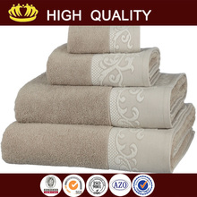 Brand new face towel with decoration wholesale