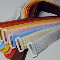ShenZhen beautiful strong hook & loop strap,magnetic ,stretch ,decorative hook loop manufacturer
