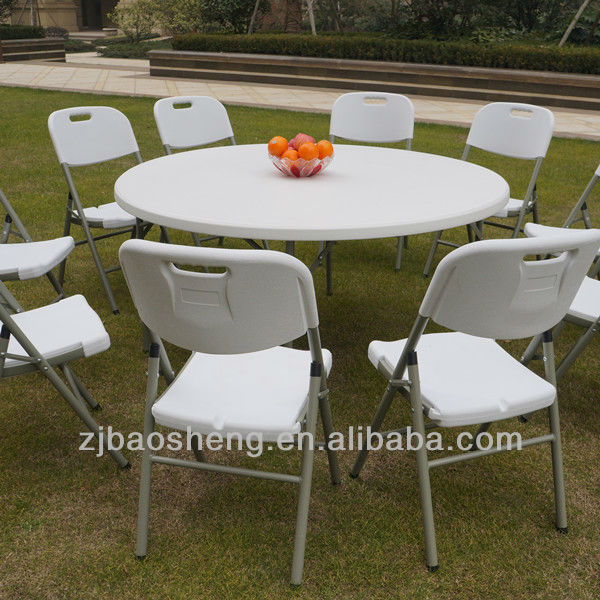 Table de jardin ronde plastique des id es int ressantes pour la conception de for Acheter table de jardin plastique