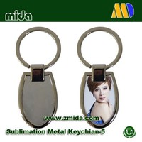 High quality sublimation keychain with customer printing