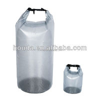 transparent pvc tarpaulin waterproof dry bag for outdoor sport