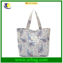 manufacture produce waterproof full print tote bag for shopping