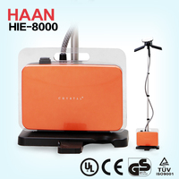 Korean Style HAAN GS/CE household electric stand garment steamer HIE-8000 with steaming control on the handle