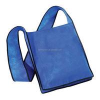 patchwork shoulder bags, odegradable rolled dog nonwoven bag, online shopping bag