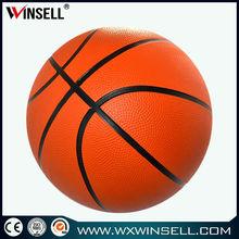 cheap 8 panels no logo printed basketball
