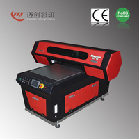 Digital mini offset printing machine p Maxcan F600G uv flatbed printer ricoh For Printing on Glass, Ceramic Tile, Acrylic, Gifts
