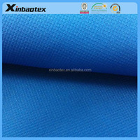 Zhejiang supplier 260T peal dot polyester pongee fabric bonded with milky film