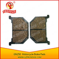 Supply Good Quality Motorcycle GN250 Brake pads