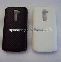 Fiber carbon hard case cover for LG G2 D802