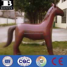 Lifesize giant inflatable horse pvc big toy horse decorative blow up horse