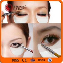 woven fabric shadow shields/make up eye patch
