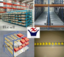 Carton Flow Rack With Wheels for Warehouse Storage