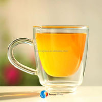 Samyo Custom Glassware Manufacturer bacardi superior glass cup