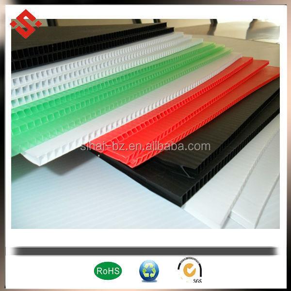pp plastic coroplast sheet