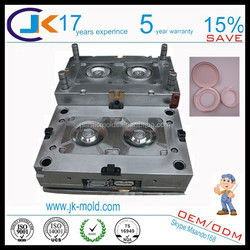 On Time Delivery Paypal Payment Custom Cosmetic Cover Plastic Two Components Mould Factory