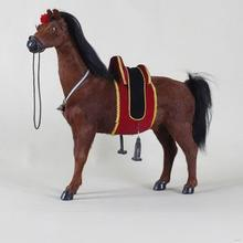 Low price hot sale solar horse toy