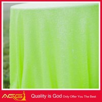 china wholesele Hot fashion new 100% polyester sequin tablecloths jenny bridal