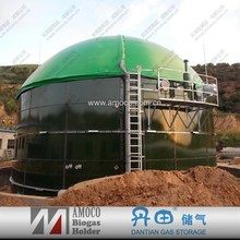 2015 China biogas plant /waste water treatment plant assembled enamelled pressed steel tank