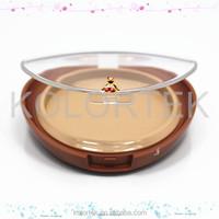 empty transparent powder compact case/ empty blush compact powder case/ makeup compact case manufacturer